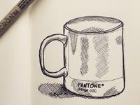 Pantone Mug Sketch