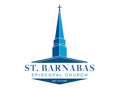 St  Barnabas Episcopal Church vector branding logo