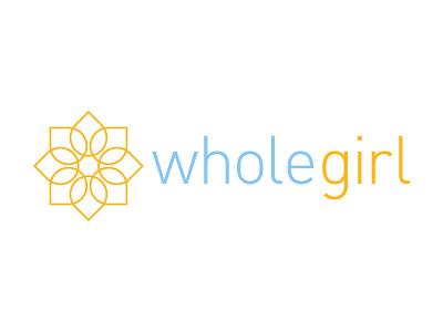 Whole Girl vector logo branding
