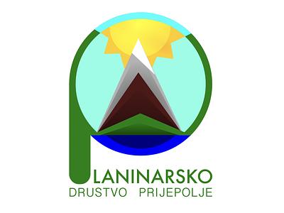 Mountaineering club idenity design typography sign branding illustration logotype logo
