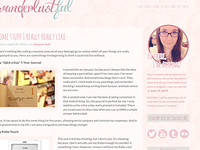 Bit of a blog redesign...