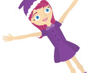 Super Cheerful Elf Girl