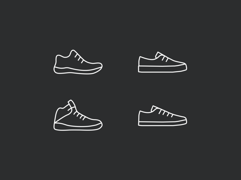 Sneakers Icons ui logo ecommerce e-commerce clothing icon icons fashion shoe sneakers sneaker