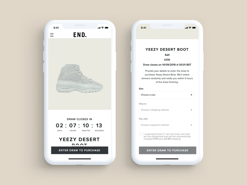 Secured PDP / Checkout countdowntimer countdown landingpage landing clothing e-commerce ecommerce shoe shop retail checkout checkout page sneakers pdp
