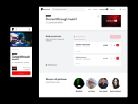 Paid Livestream Event music e-commerce retail ecommerce live stream streaming live livestream ticketing book book now quantity selector selector quantity ticket shop paid