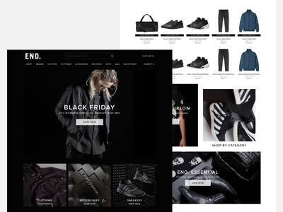 Black Friday  home retail ecommerce black friday takeover