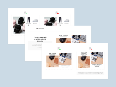 Email Guidelines white space email campaign clothing brand layout shop clothing content retail e-commerce email guidelines