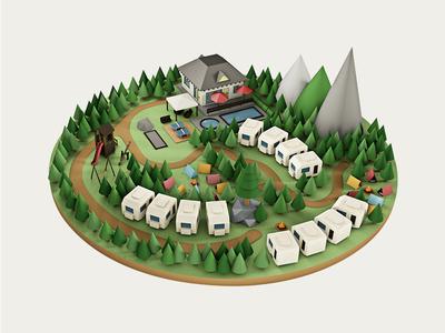 Le Bivouac Camping