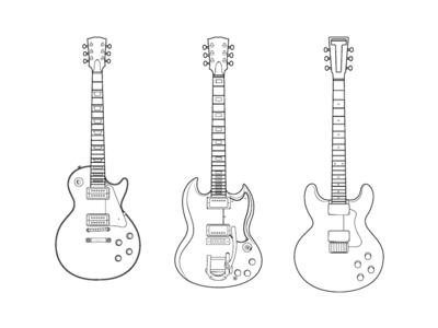 Set of guitars - 1