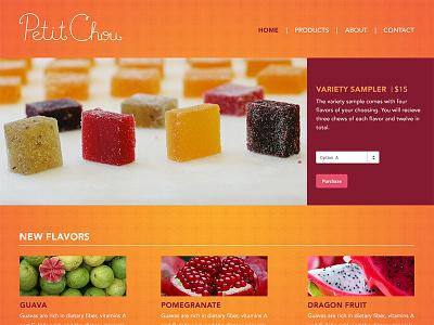 Petit Chou Website orange petit chou fruit website pate de fruit