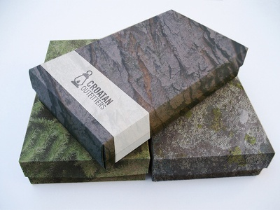 Gift Box Concept outdoors nature natural outfitters