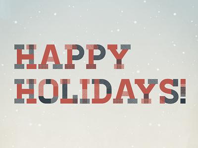 Happy Holidays - WIP happy holidays winter season