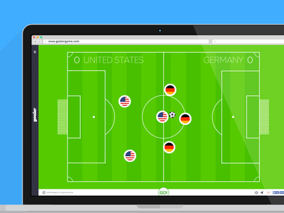 Goaler game football soccer html5 web online social interactive