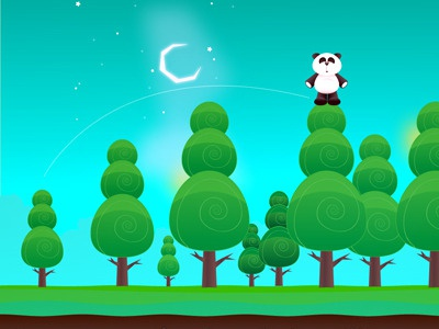 Pogo Panda ipad interactive game app
