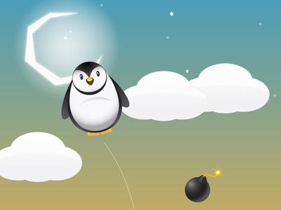 Pogo Penguin ipad interactive game app