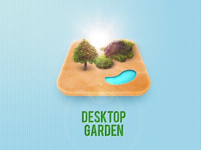 Desktop Garden App Icon bespoke software interface ui ux interactive icon app