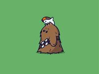 Chewbacca + Porg