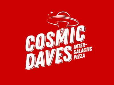 Space Pizza Logo