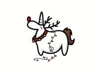 Unicorn Reindeer