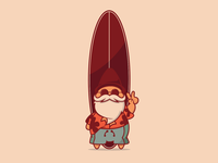 Surfin Gnome