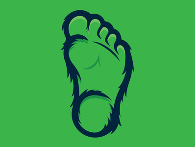 Big Foot Logo icon logo oregon i believe forest woods outside outdoors wilderness foot sasquatch big foot
