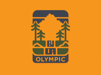 Olympic National Park Badge