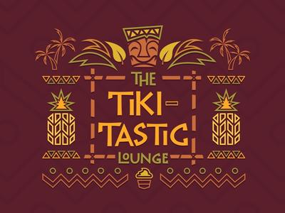 The Tiki-Tastic lounge