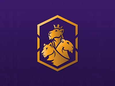 Orlando Pride branding queen illustration icon badge logo soccer lioness lions lion pride orlando