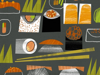 Sushi Pattern sushi