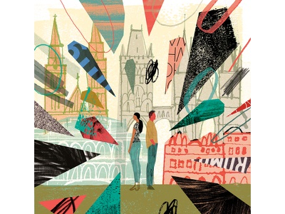 """A Tourist In Romance"" break-up travel prague"