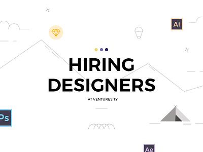 We're Hiring opportunity job bangalore designer hiring