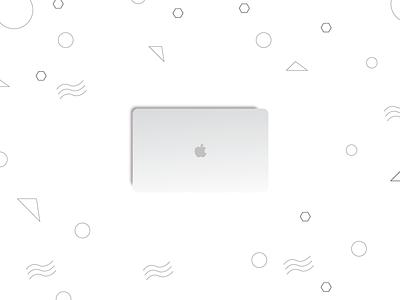 The Beauty elegant minimal laptop apple mac pro macbook