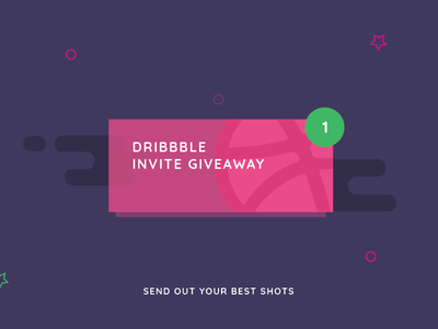 Dribbble Invite dribbbleinvite boardingpass pass ticket invite invites giveaway