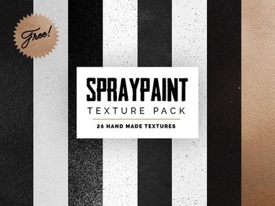 FREE Spraypaint Texture Sampler Pack
