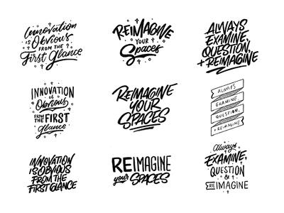 Tradeshow Merch Lettering cursive script brush vintage quote design quotes ipad lettering procreate hand lettering