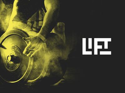 LIFT - Branding Sneak Peek typography vector minimal bold gym fitness workout logo brand crossfit lift
