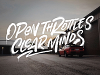 Open Throttles Clear Minds