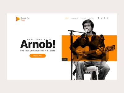 Google Music Layout