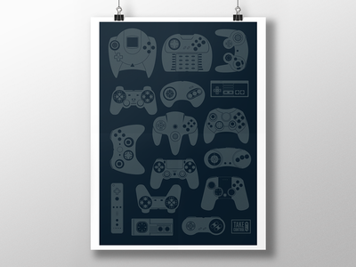 Take Control Poster poster vector control gaming