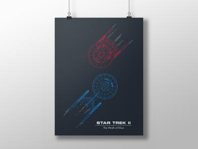 Trek Poster - ST 2