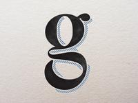 Lower-case g