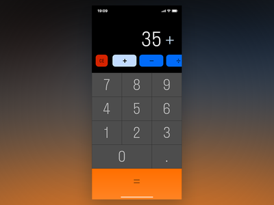 Collect UI - Calculator calculator app one hour calculator