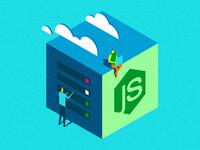 NODE.JS Hosting Icon