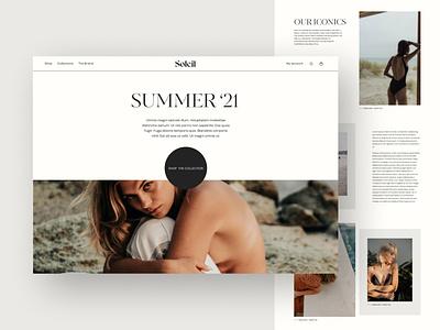 Lookbook lookbook user experience jewelry fashion e-commerce ecommerce webflow figma typography website design webdesign clean ux uiux ui