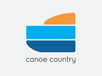 Canoe Country minimal logo