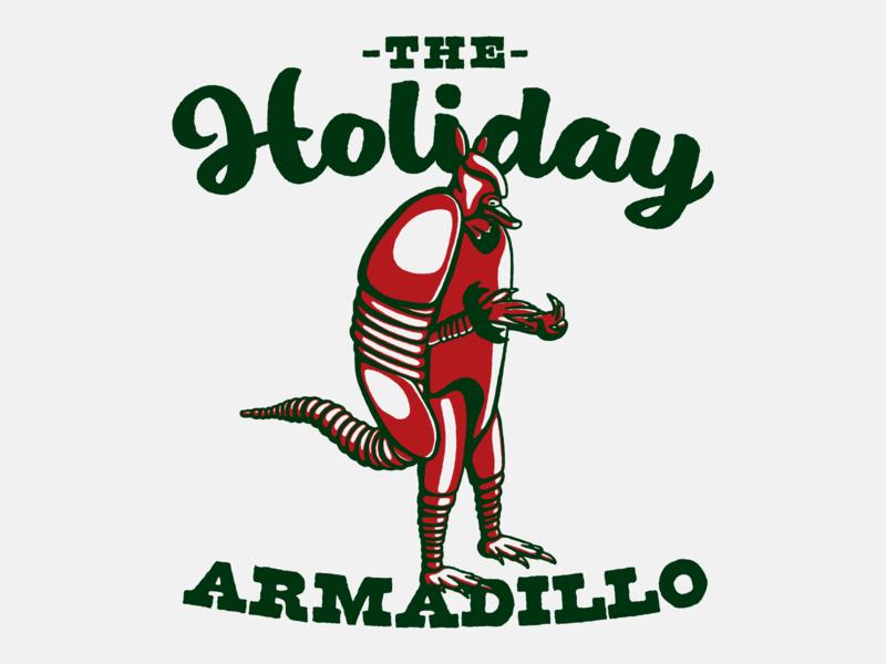Holiday Armadillo armadillo holiday friends