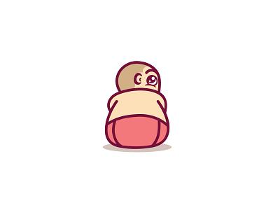Baby logo children child babies baby mascot branding vector logo design brand