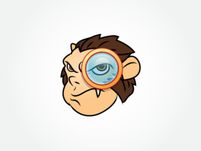 Ape Search Engine Logo Template