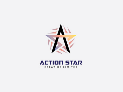 Action Star branding star vector design logo brand
