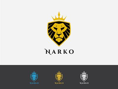 Narko mascot vector design brand logo
